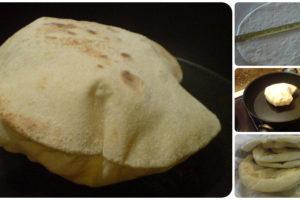 Napuhane pogače (pita kruh)