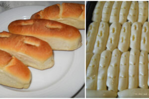 PRELIVENE KIFLICE - Kiflice ko iz pekare ,ukusne ,mekane ko duša